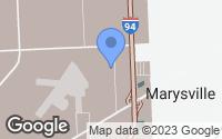 Map of Smiths Creek, MI