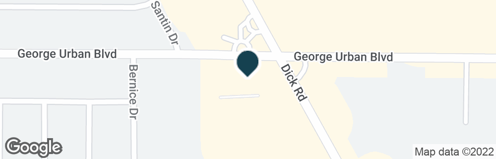 Google Map of578 DICK RD