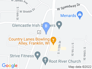Map of Forest Home Animal Clinic Dog Boarding options in Franklin | Boarding