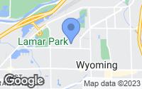 Map of Wyoming, MI