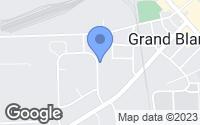 Map of Grand Blanc, MI