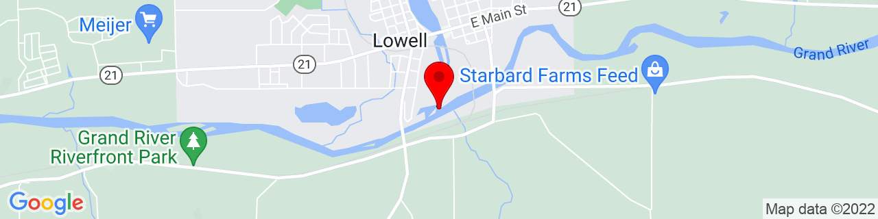 Google Map of 42.9272538, -85.3383494