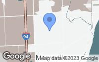 Map of Marysville, MI