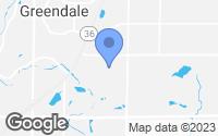 Map of Greendale, WI
