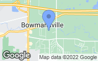 Map of Bowmansville, NY
