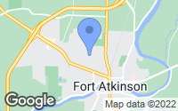 Map of Fort Atkinson, WI