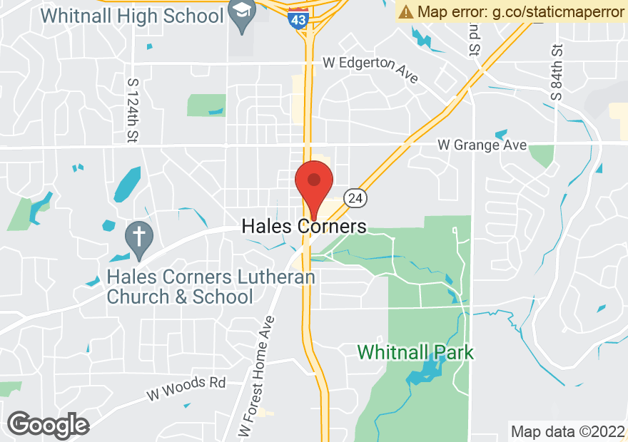 Google Map of 5860 S 108TH ST
