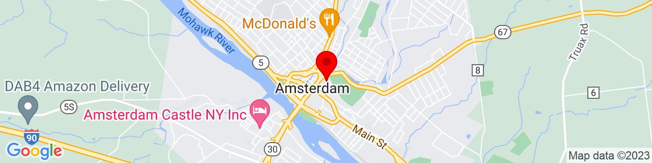 Google Map of 42.93861111111111, -74.18805555555556
