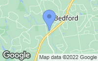 Map of Bedford, NH
