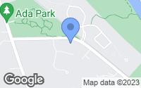 Map of Ada, MI
