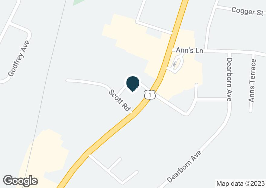 Google Map of620 LAFAYETTE RD