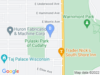 Map of In Home Pet Services Dog Boarding options in Cudahy | Boarding