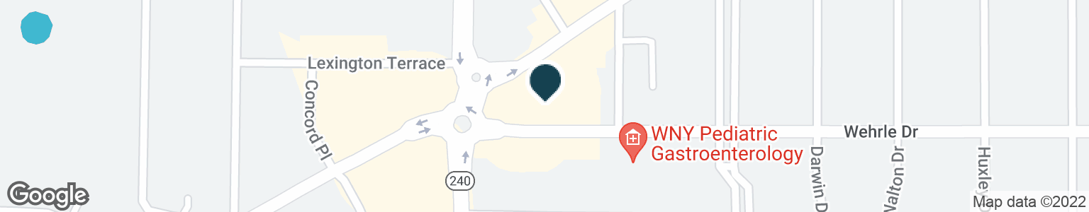 Google Map of2043 KENSINGTON AVE