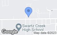 Map of Swartz Creek, MI