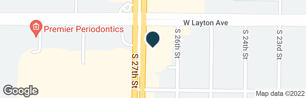 Google Map of4730 S 27TH ST