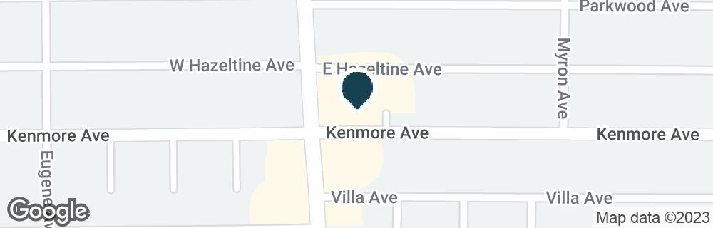 Google Map of2739 DELAWARE AVE