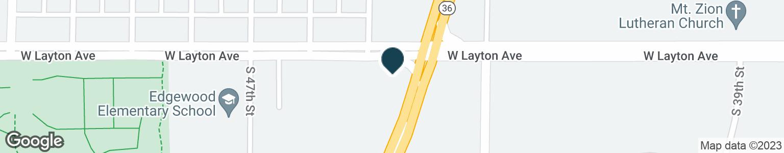 Google Map of4405 W LAYTON AVE