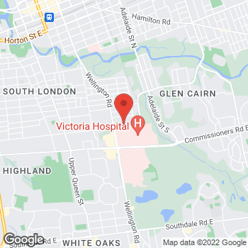 Map of Staples at 332 Wellington Road, London, ON N6C 4P6