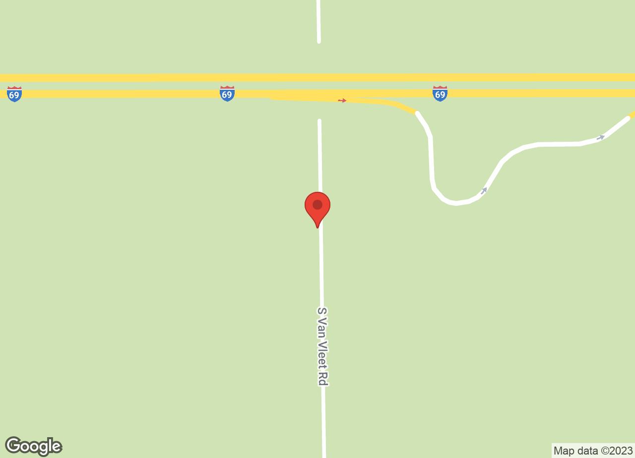Google Map of VCA Swartz Creek Animal Hospital