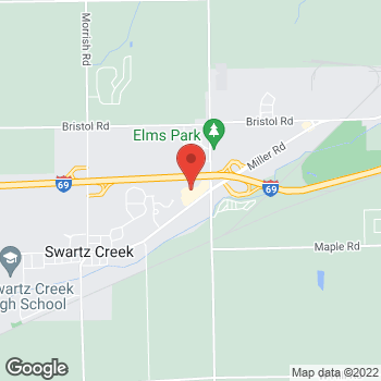 Map of Check `n Go at 7070 Miller Road, Swartz Creek, MI 48473
