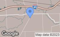 Map of Goodells, MI