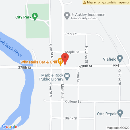 Kingery Taxidermy on Map (301 Bradford St, Marble Rock, IA 50653) Map