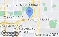 Map of Milwaukee, WI