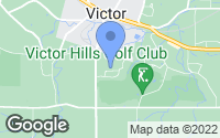 Map of Victor, NY
