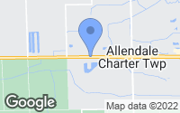 Map of Allendale Charter Township, MI