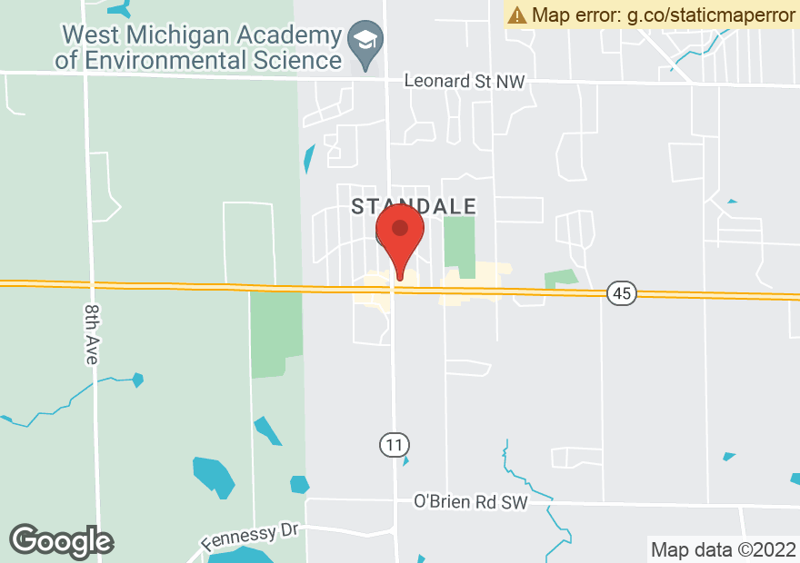 Google Map of 4365 LAKE MICHIGAN DR NW