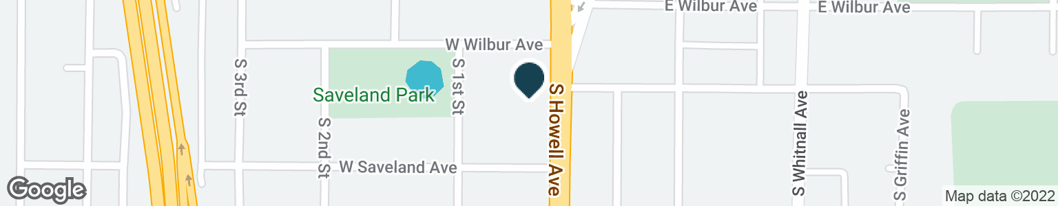 Google Map of3701 S HOWELL AVE
