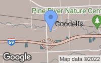Map of Goodells, MI