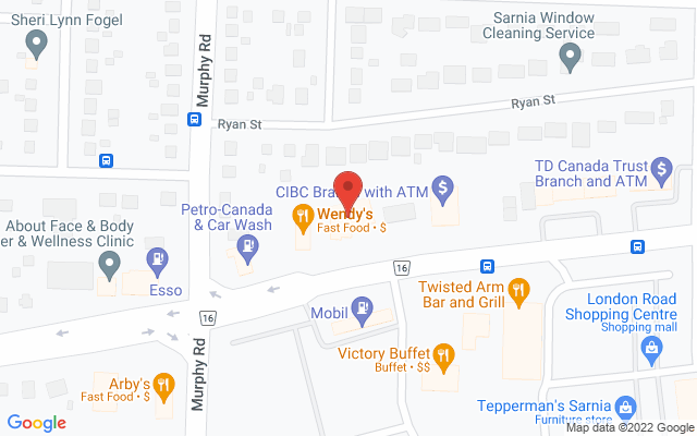 Sport And Spine Physiotherapy Static Google Map Wide Version