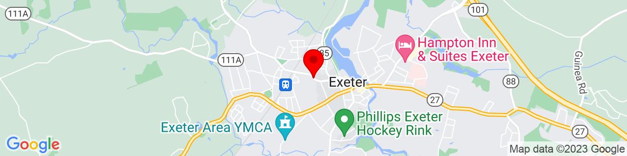 Google Map of 42.981874, -70.953816