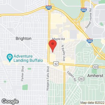 Map of buybuy BABY at 1261 Niagara Falls Boulevard, Amherst, NY 14226