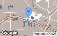 Map of Kimball, MI