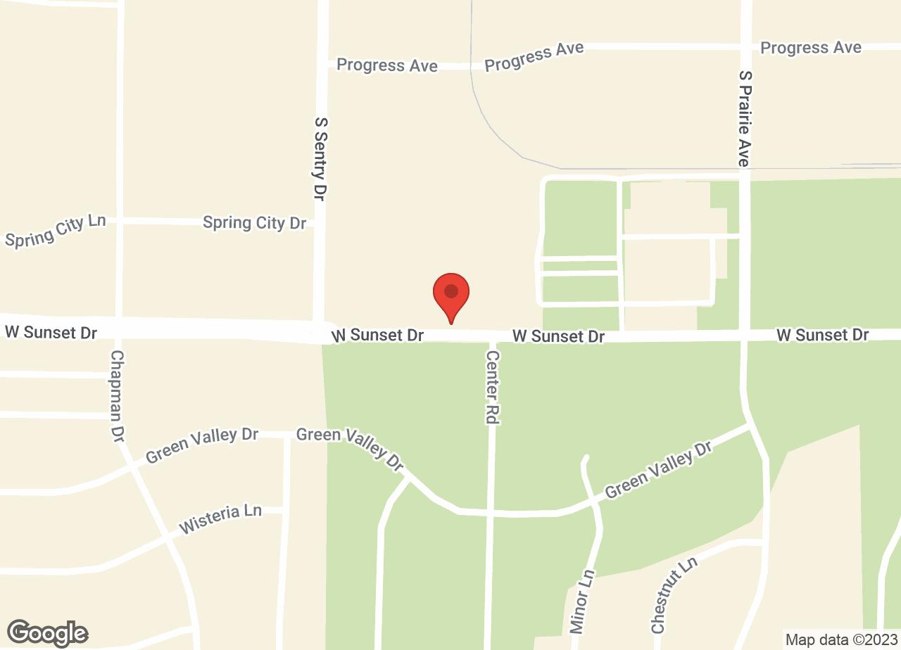 Google Map of VCA Associates in Pet Care Animal Hospital