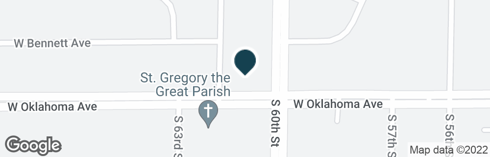 Google Map of6030 W OKLAHOMA AVE