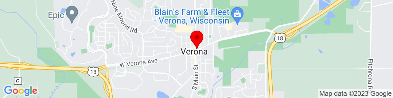 Google Map of 42.99083, -89.53318