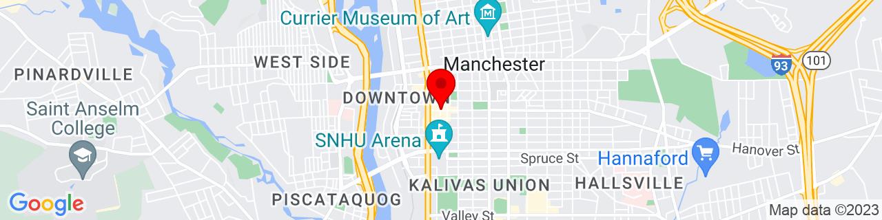 Google Map of 42.9909415, -71.4614513