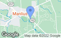 Map of Manlius, NY