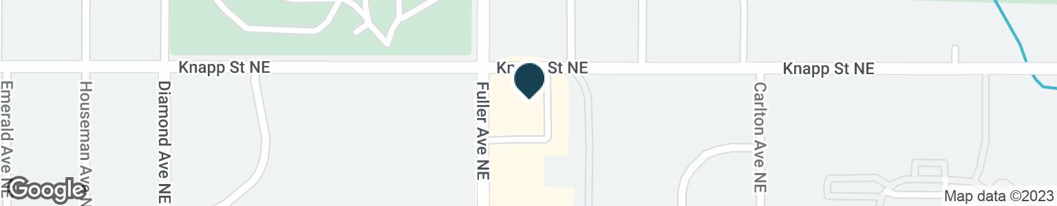Google Map of1964 FULLER AVE NE