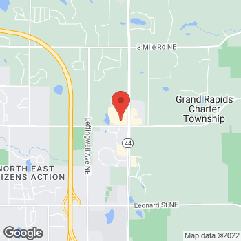 Map of Panera Bread at 2044 Celebration Drive NE, Grand Rapids, MI 49525