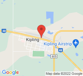 Google Map of 420+Railway+Street%2CKipling%2CSaskatchewan+S0G+2S0