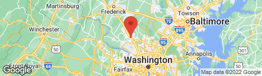 Map of 420 BLUE FLAX PLACE GAITHERSBURG, MD 20878