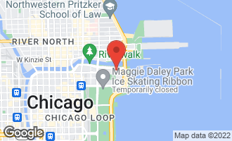 Map of 420 East Waterside Drive #1403 CHICAGO, IL 60601