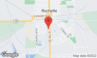 Map of 420 South 7th Street ROCHELLE, IL 61068