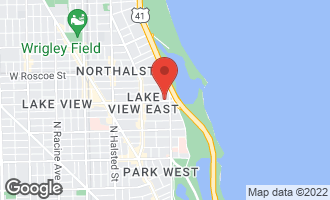 Map of 420 West Belmont Avenue 20B CHICAGO, IL 60657