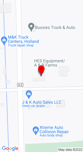 Google Map of Holland Equipment Services 4203 Blue Star Hwy., Holland, MI, 49423