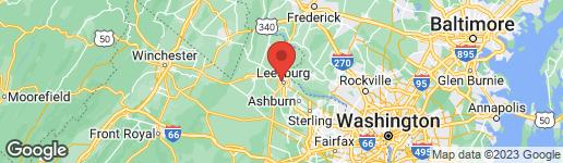 Map of 421 DODD DRIVE NW NW LEESBURG, VA 20176